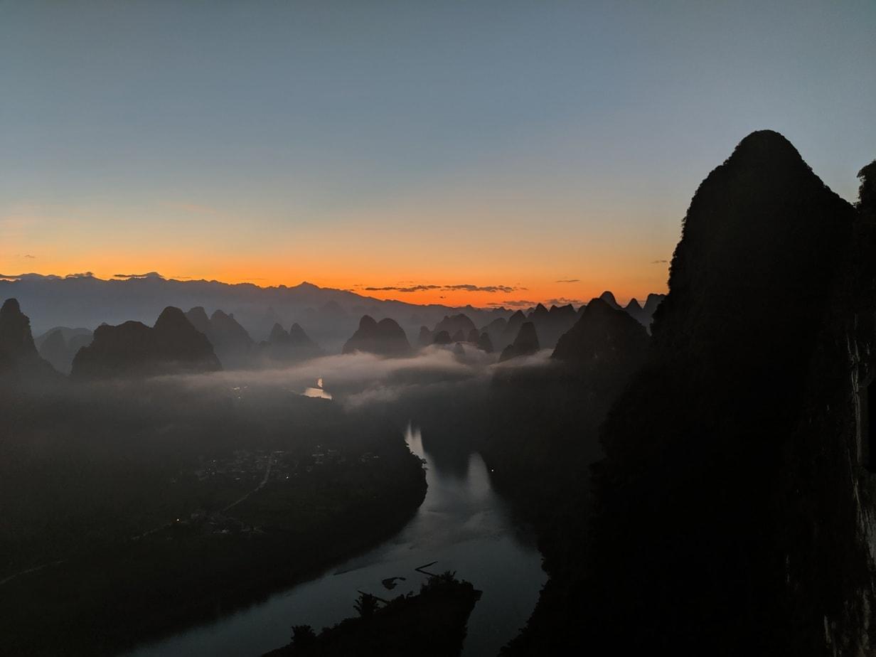 Sunrise in Guangxi