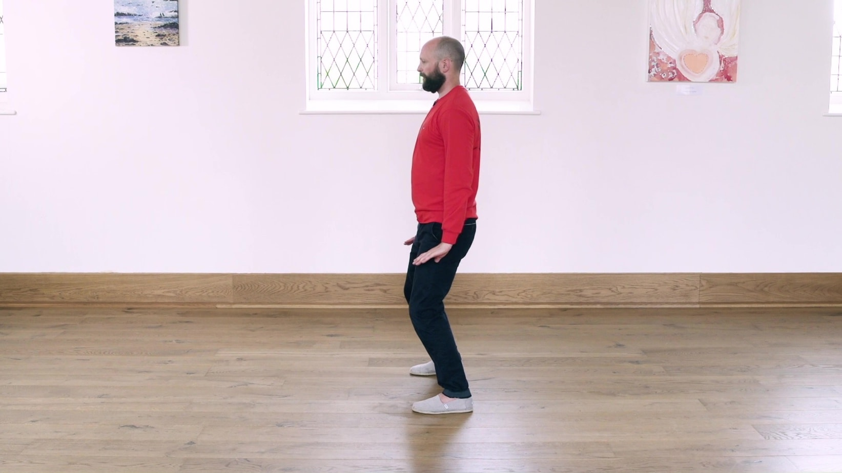 Tai Chi Four Points Exercise
